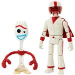 Toy Story 4 - Figura Básica - Forky & Duke Caboom Gdp71 - MATTEL
