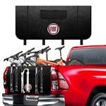 Transbike Logo Fiat 3 Bike - Protetor para Caminhonete