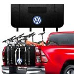 Transbike Logo Volkswagen 3 Bike - Protetor para Caminhonete