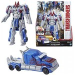 Transformers 5 Armadura de Cavaleiro Turbo Changer Optimus Prime Hasbro