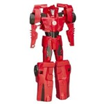 Transformers - Boneco Robots In Disguise Titan Changers - Sideswipe B4676