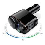 Transmissor Fm Baseus Bluetooth Universal 2 USB Entrada 12v