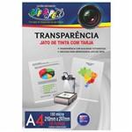 Transparência A4 com Tarja 150 Micra Off Paper 10 Folhas