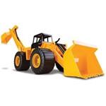 Trator Combo - Retroescavadeira - Cardoso Toys