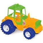 Trator de Brinquedo 116 Amarelo/Azul/Verde - Calesita