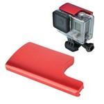 Trava Segurança em Alumínio Vermelha para GoPro Hero 3+/4