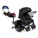 Travel System - Andes Duo - Onyx e Base para Bebê Conforto Terni com Isofix - Infanti