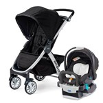 Travel System - Bravo - Keyfit Night - Ombra - Preto - Chicco
