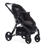 Travel System com Adaptador - Urban Plus Keyfit Night e Color Pack Plus - Legend - Chicco