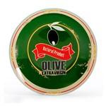 Travessa de Vidro Redonda Funda Olive 26 Cm