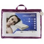 Travesseiro Cervical de Látex Contour Latexlux