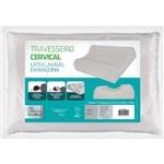 Travesseiro de Látex Cervical (50x70cm) - Fibrasca - Cód: Wc2045