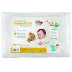 Travesseiro Fibrasca Baby Viscoelástico Antissufocante