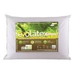 Travesseiro Fibrasca Evolátex Médio C/ Fibra de Eucalípto - P/ Fronha 50x70