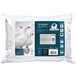 Travesseiro Fibrasca Percal Plumax Fibras Siliconizada - 0,68x0,48