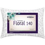 Travesseiro Floral 50x70 Cm - Ortobom