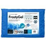 Travesseiro Frosty Gel Fibra - Plumax Capa Euro (50x70cm) - Fibrasca - Cód: Fi4345