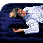 Travesseiro Inflável Veludo - Intex