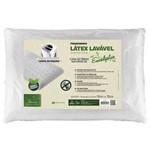Travesseiro Latex Lavável Eucaliptus - Fibrasca