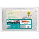 Travesseiro no Allergy Silicomfort Alto (50x70x15cm) - Fibrasca - Cód: Wc2047