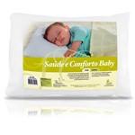 Travesseiro Saúde e Conforto Baby 30x40cm - Fibrasca