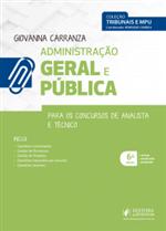 Tribunais e MPU - Administração Geral e Pública - para Técnico e Analista (2019)