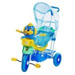 Triciclo com Capota Azul - Belfix