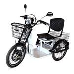 Triciclo Elétrico Ipanema 800w 48v Branco