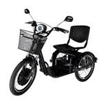 Triciclo Elétrico Machine Motors Force 800W 48V Preto