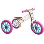 Triciclo 2 em 1 (vira Bicicleta de Equilíbrio) Unicórnio
