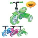 Triciclo Infantil com Caçamba - Azul - Unitoys