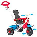 Triciclo Infantil com Empurrador Bandeirante Smart 264