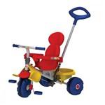 Triciclo Infantil com Empurrador Bandeirante Smart Trike 265