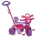 Triciclo Motoban 3 em 1 Rosa Bandeirante