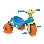 Triciclo Mototico Andador Pedal Azul - Bandeirante