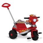 Triciclo Passeio Cars Disney Bandeirante Vermelho