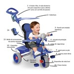 Triciclo Smart Comfort - Bandeirante