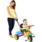 Triciclo Smart Plus Verde/Vermelho - Brinquedos Bandeirante