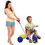 Triciclo Smart Pop Azul/Vermelho - Brinquedos Bandeirante