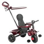 Triciclo Smart Reclinável Vinho - Bandeirante