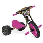 Triciclo Velotrol Rosa - Bandeirante