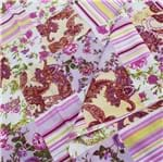 Tricoline Mista Estampada - Floral Lis Floral Lis 41