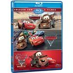 Trilogia Blu-ray Carros (Carros + Carros 2 +Car - 4 Discos)