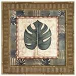 Tropical Folhas I Quadro 38 Cm X 38 Cm Natural/verde