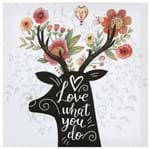 True Love Tela 28 Cm X 28 Cm 2vrd. Branco/multicor
