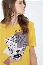 Tshirt Be Strong Amarelo Est Silk Bi Strong Amarelo - M