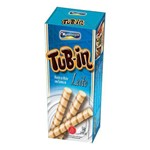 Tubinho de Wafer Tub In Leite 54g C/24 - Montevergine
