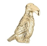 Tucano Decorativo Dourada em Cerâmica 8646 Mart