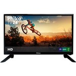 "TV LED 24"" Philco PH24N91D HD com Conversor Digital 1 HDMI 1 USB"