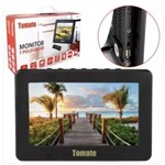 Tv Portátil Led Monitor Tv Digital 7 Pol Micro Sd com Antena